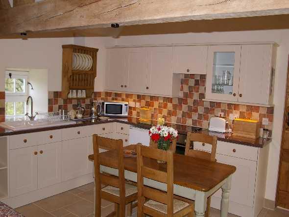 West Side Barn Cottage Kitchen